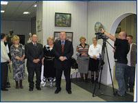 Выставка творческой семьи Глебова-Вадбольского