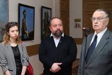 Выставка А.И.Беглова в Дипакадемии МИД России